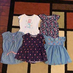 Set of 5 Girls' Tops
